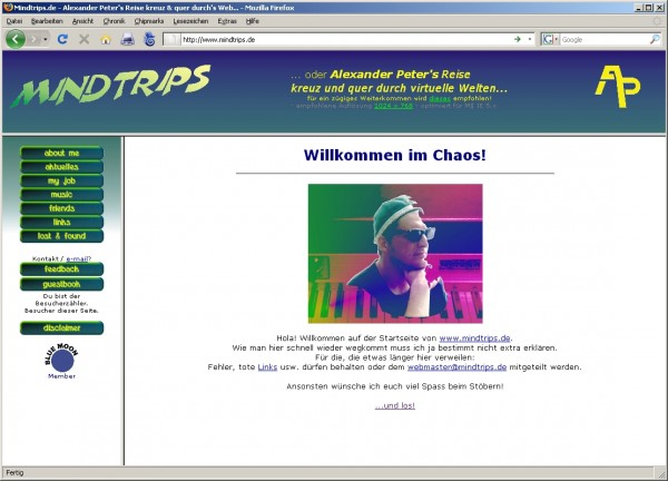 Mindtrips.de um 2002