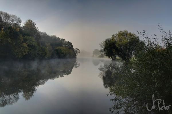 Anlegeplatz Ray-sur-Saône - kühler und früher Herbstmorgen