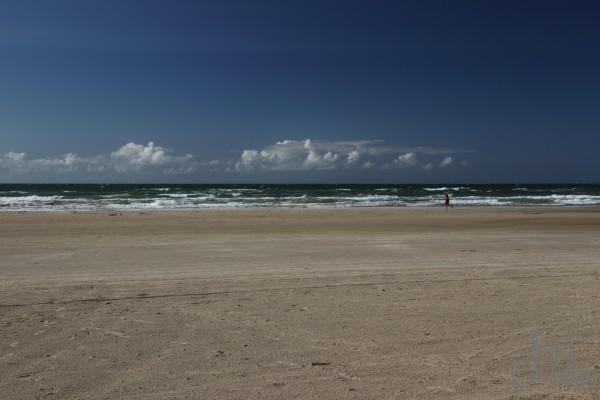 Rødhus Strand - erste Polfilterversuche