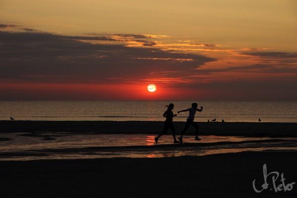 Blokhus Strand, August 2013 gegen 21:00 Uhr